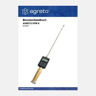 Handbuch Agreto Heufeuchtemesser