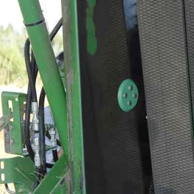 Feuchtigkeitssensor in der Rundballenpresse