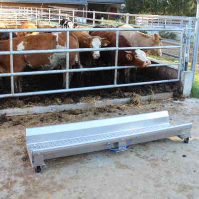 Cattle weighbridge Agreto Weigh beams
