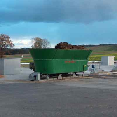 Feed mixer biogas scale system Agreto