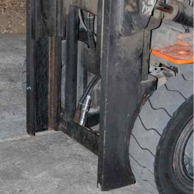Forklift scale Agreto sensor
