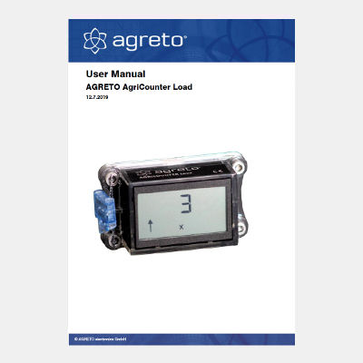 Manual Agreto AgriCounter Load