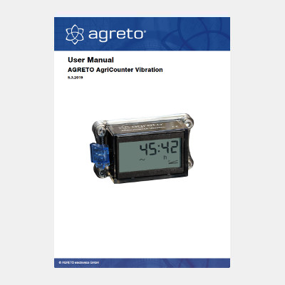 Manual Agreto AgriCounter Vibration