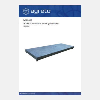 Manual Agreto Platform Scale galvanized