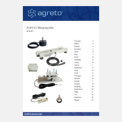 Quick guide Agreto Scale kits