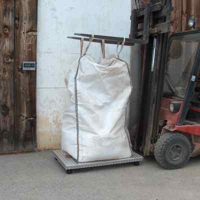 Weighing big bag Agreto platform scale