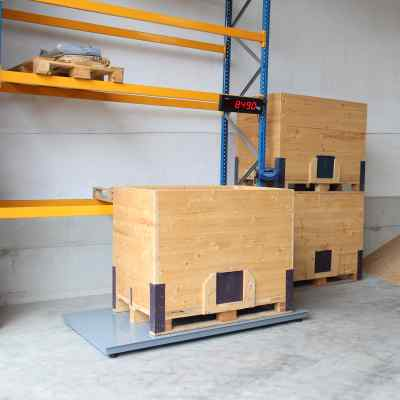 Weighing boxes Agreto platform scale