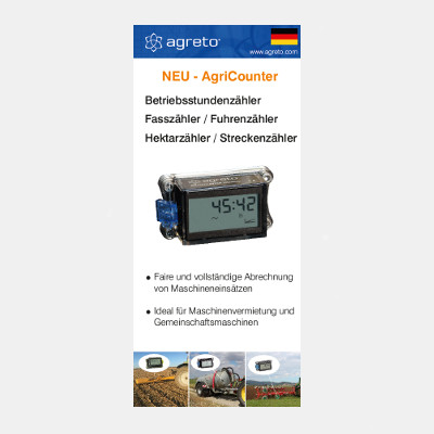 AgriCounter Flyer deutsch