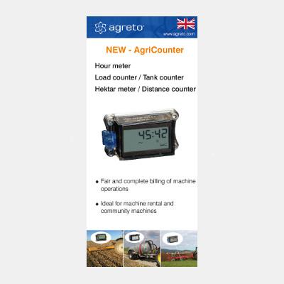 AgriCounter Flyer english