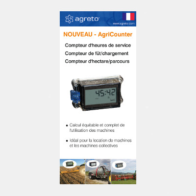AgriCounter Flyer französisch