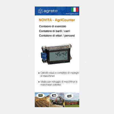 AgriCounter Flyer italienisch