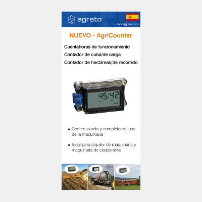 AgriCounter Flyer spanisch