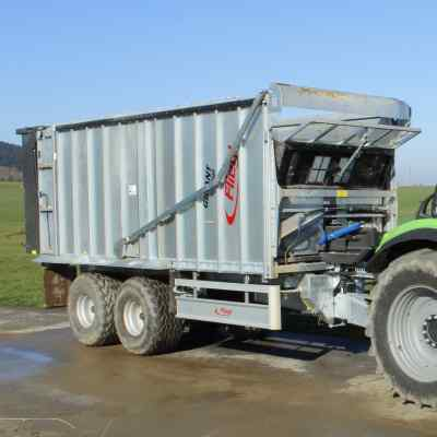 Acre meter Agri Counter Drive trailer