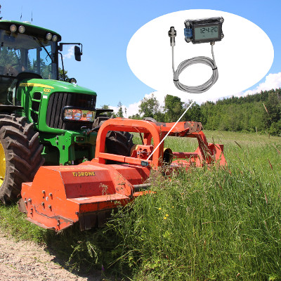 Hour meter Agreto RotoCounter II on mulcher
